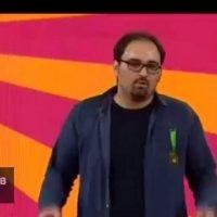 فیلم تیکه مجید افشاری به آزاده نامداری و مداحان در خندوانه