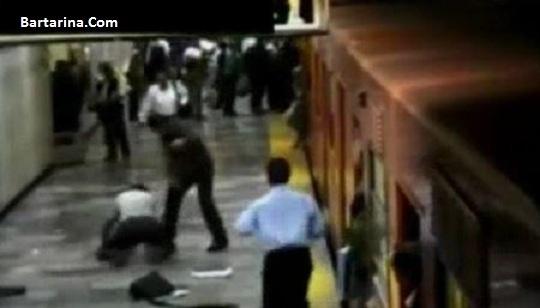 فیلم تیراندازی در مترو شهرری تهران 24 تیر 96 + جزئیات