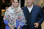 عکس مهران مدیری و دخترش شهرزاد در اکران فیلم ساعت ۵ عصر
