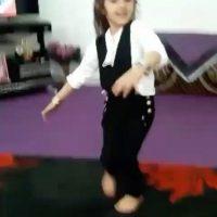 فیلم رقص آذری آتنا اصلانی دختر ۷ ساله قبل از به قتل رسیدن