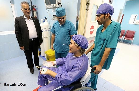 فیلم عمل جراحی زیبایی رودریگو آلوز مدل در جزیره کیش ایران