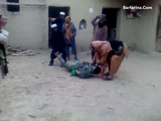 فیلم جنجالی شکنجه سرباز مرزبان ایرانی توسط اتباع افغانی