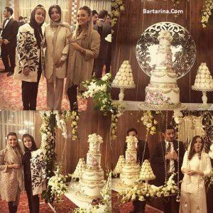 مراسم عروسی رضا قوچان نژاد و سروین بیات در هلند + فیلم