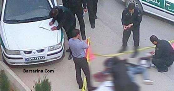 فیلم تیراندازی در میدان المپیک تهران و کشتن دختر 26 تیر 96
