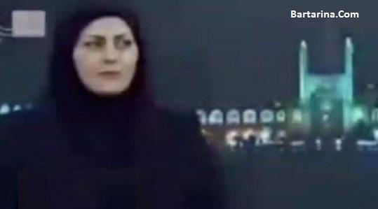 فیلم سوتی خنده مجری زن تلویزیون حین روضه شهادت امام صادق
