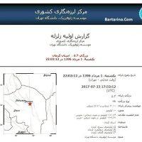 فیلم زلزله ۵.۴ ریشتری استان کرمان ۱ مرداد ۹۶ + جزئیات و عکس