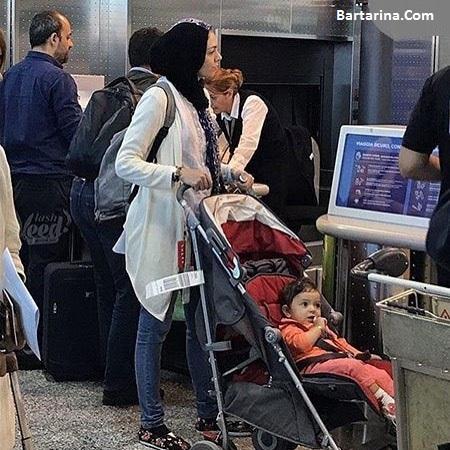آزادی آزاده نامداری از زندان بعد از بازداشت در فرودگاه امام