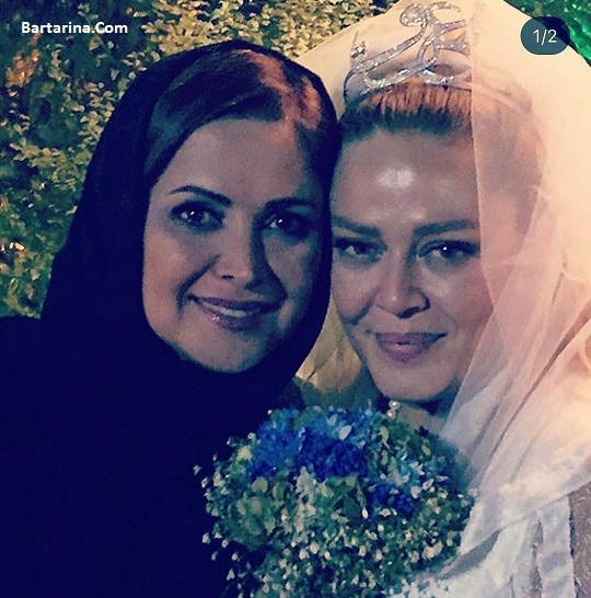 ازدواج دوم بهاره رهنما با امیرخسرو عباسی 4 شهریور 96 + عروسی