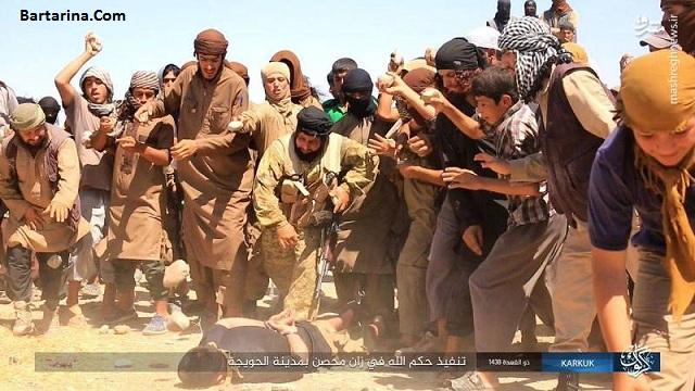 فیلم 18+ اعدام جوان عراقی به دست داعش در شهر الحویجه