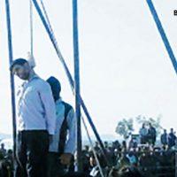 فیلم اعدام علی اصغر مرد شیطان قاتل دختر اصفهانی ۳۰ مرداد ۹۶