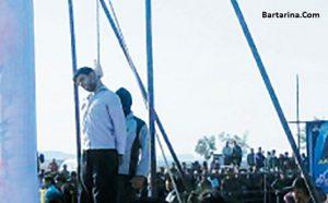 فیلم اعدام علی اصغر مرد شیطان قاتل دختر اصفهانی 30 مرداد 96