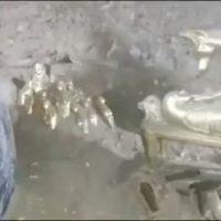 فیلم پیدا کردن گنج قارون واقعی توسط یک پیرمرد مصری