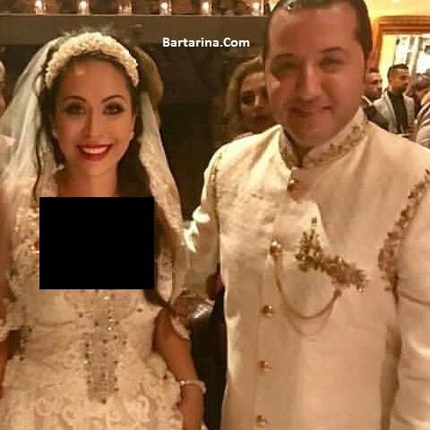 فیلم عروسی حامد نیک پی و همسرش افسانه + عکس ازدواج نیک پی