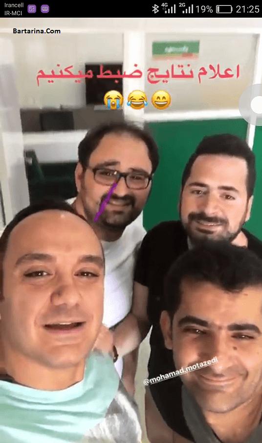 محمد معتضدی و مجید افشاری فینالیست های خنداننده شو خندوانه