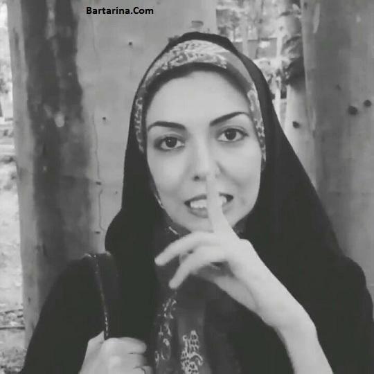 وداع آزاده نامداری از ایران و پناهندگی آزاده نامداری به سوئد