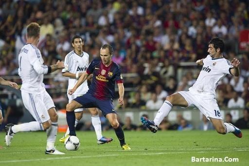 فیلم بازی سوپرکاپ رئال مادرید و بارسلونا 23 مرداد 96 + نتیحه