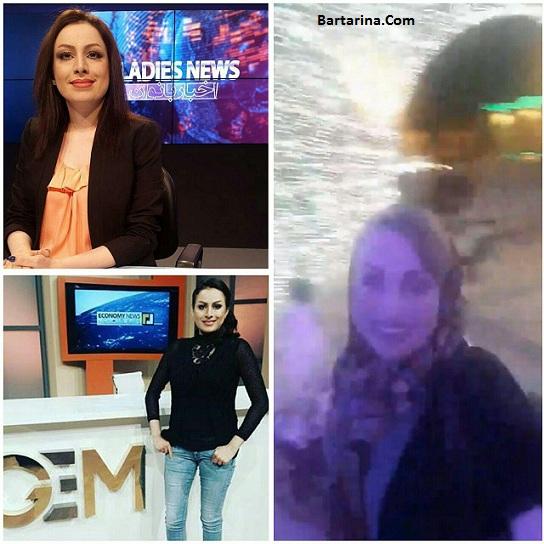فیلم سپیده توفیق مجری شبکه جم در تالار پذیرایی قم ایران
