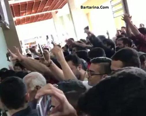 فیلم توهین طرفداران تراکتورسازی به هادی نوروزی پرسپولیس