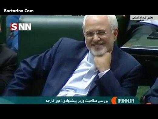 فیلم توهین و فحش عبدالله سامری نماینده خرمشهر به ظریف مجلس