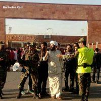 توهین به بهزاد عباسپور روحانی طرفدار تراکتور و راه ندادن وی