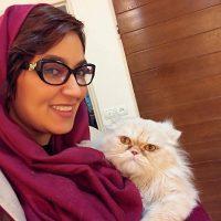 ازدواج فریبا طالبی بازیگر کیمیا ستایش با امیر صدهزار + عروسی