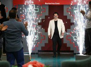 فیلم اجرای بهنام بانی خواننده در برنامه خندوانه 25 شهریور 96
