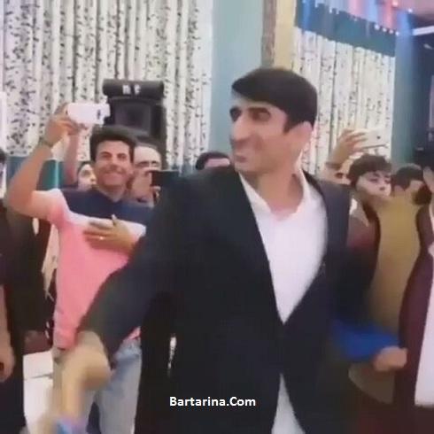 فیلم رقص کردی علیرضا بیرانوند همراه با گروه رقص کرمانشاه
