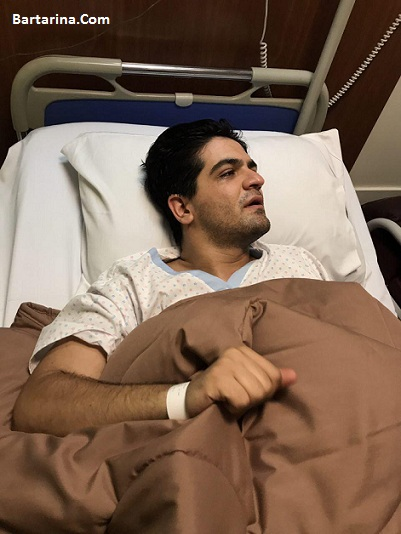 بستری شدن سینا شعبانخانی خواننده در بیمارستان 13 شهریور 96