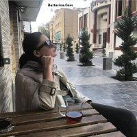 فیلم نورگل یشیلچای بازیگر زن ترکی در اصفهان ایران + عکس