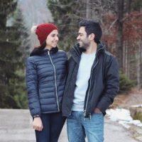 تصاویر دیده نشده سارا خادم الشریعه و همسرش در ایتالیا