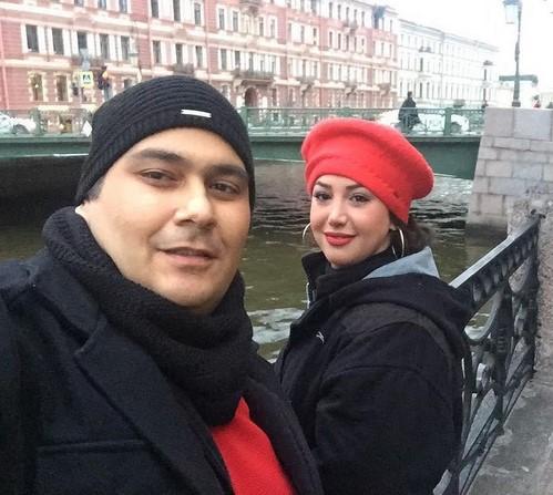 تصاویر بازیگران و همسرانشان