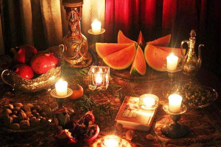 علت وجود هندوانه در سفره یلدا