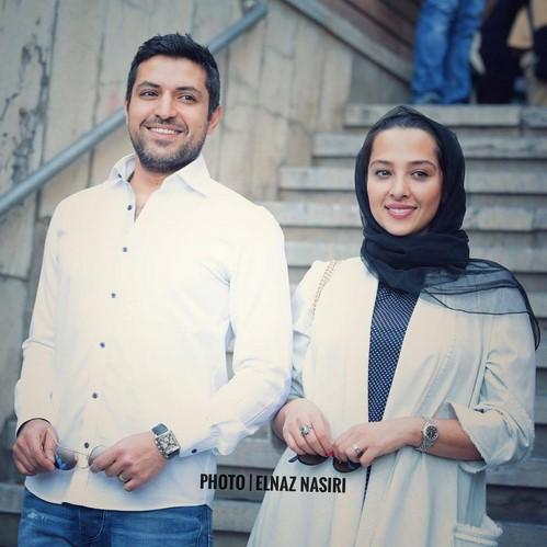 تصاویر جدید بازیگران و همسرانشان