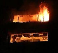 مرگ دلخراش سه کودک خردسال در حادثه آتش سوزی