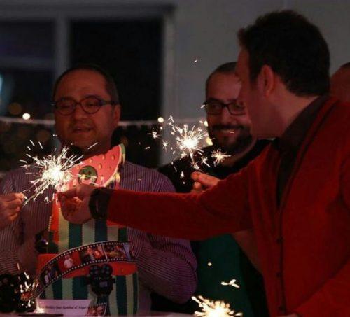 جشن تولد رامبد جوان در کنار کمدین های خندوانه