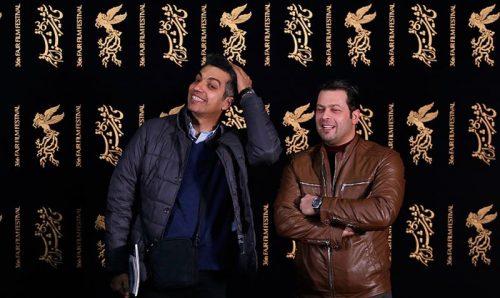 ژست عجیب عادل فردوسی پور در جشنواره فجر