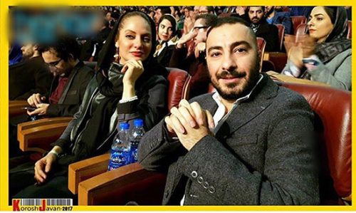 تیپ مهناز افشار و نوید محمد زاده در اختتامیه جشنواره فجر