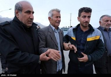 تصاویری اندوهناک از بستگان مسافران هواپیما تهران-یاسوج