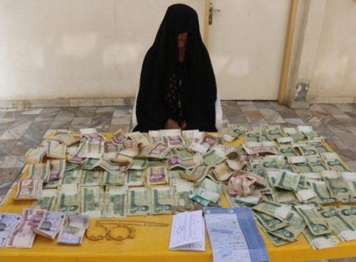 دستگیری متکدی میلیونر در سنندج