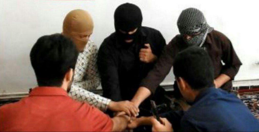 سنگسار داعشی های مهاجم به مجلس