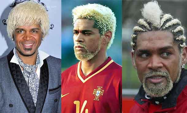 عجیب ترین مدل های مو بازیکنان فوتبال