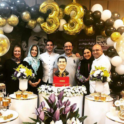 جشن تولد محسن یگانه با حضور مهران غفوریان و پانته آ بهرام